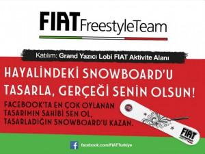 FIAT FreestyleTeam Snowboard Atölyesi