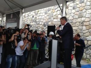 BJK İnönü Stadyumu Yıkım Töreni