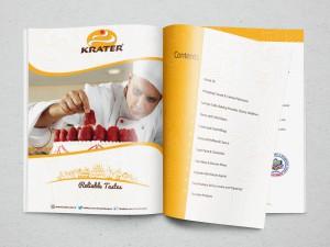 Krater Dubai Katalog Tasarımı